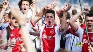 Ajax-fans vieren 32e landstitel