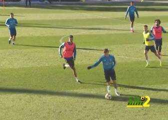 فيديو: تدريبات ريال مدريد تشهد أنباءً سعيدة لسولاري